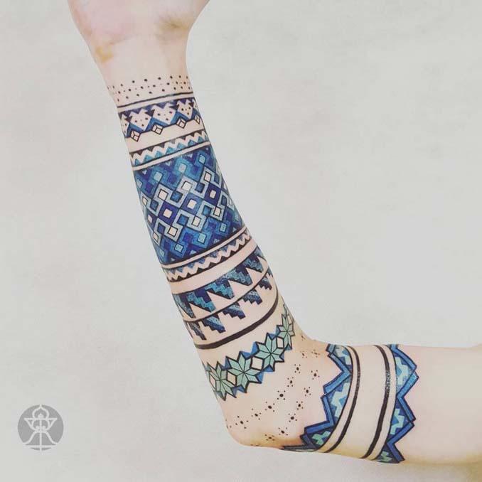 Τατουάζ εμπνευσμένα από την τέχνη των φυλών του Αμαζονίου (16)