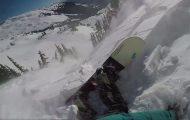 Τρομακτικό βίντεο δείχνει πώς είναι να σε παρασέρνει χιονοστιβάδα