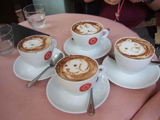 Υπέροχη τέχνη σε καφέ #11 (1)