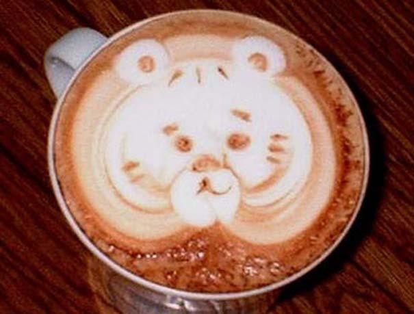 Υπέροχη τέχνη σε καφέ #11 (3)