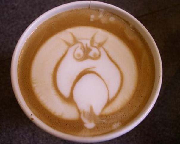 Υπέροχη τέχνη σε καφέ #11 (5)