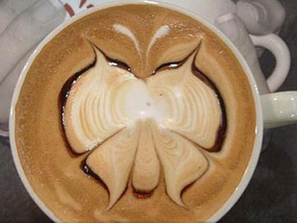 Υπέροχη τέχνη σε καφέ #11 (6)