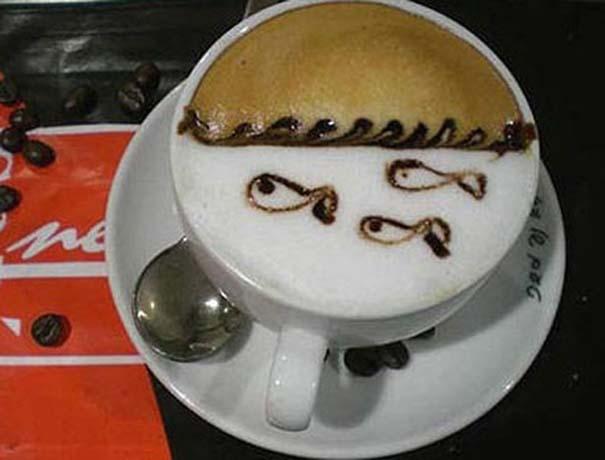 Υπέροχη τέχνη σε καφέ #11 (8)