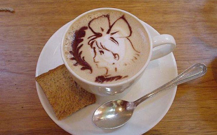 Υπέροχη τέχνη σε καφέ #11 (10)