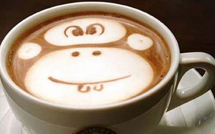 Υπέροχη τέχνη σε καφέ #12 (2)