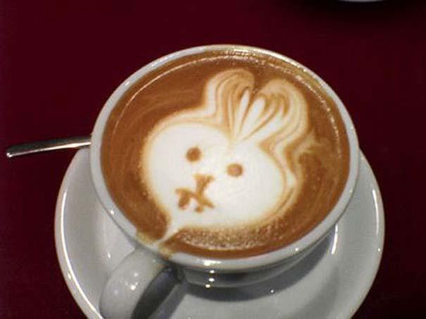Υπέροχη τέχνη σε καφέ #12 (7)