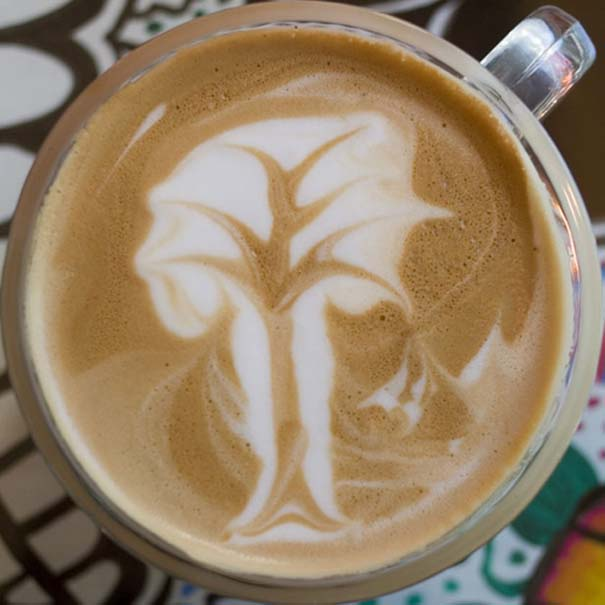 Υπέροχη τέχνη σε καφέ #12 (11)