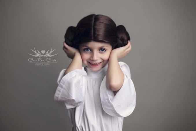 7χρονη με τη μητέρα της μεταμφιέζονται σε χαρακτήρες της Disney (2)