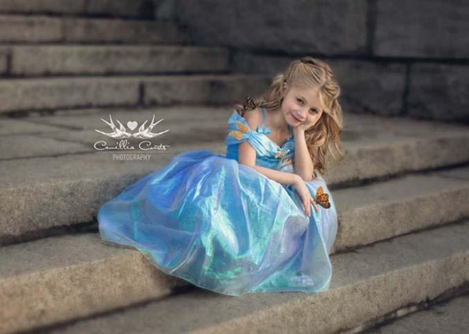 7χρονη με τη μητέρα της μεταμφιέζονται σε χαρακτήρες της Disney (9)