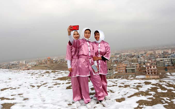 Οι ατρόμητες γυναίκες με τα σπαθιά από το Αφγανιστάν (3)