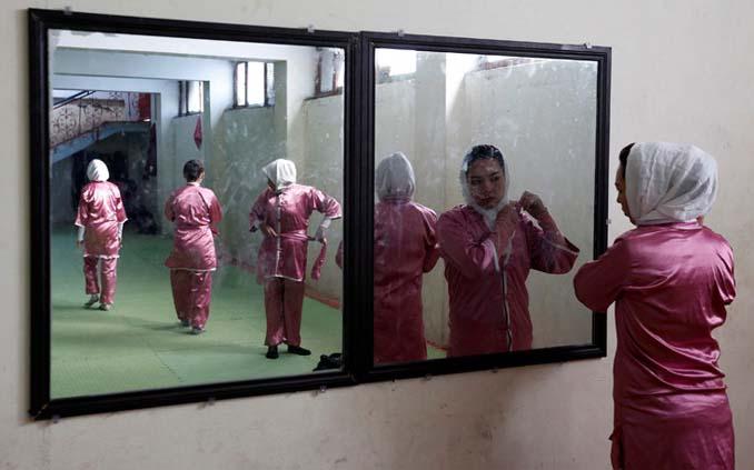 Οι ατρόμητες γυναίκες με τα σπαθιά από το Αφγανιστάν (5)