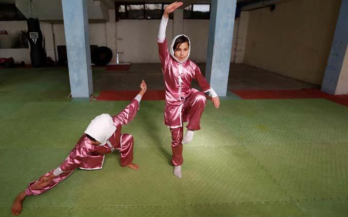 Οι ατρόμητες γυναίκες με τα σπαθιά από το Αφγανιστάν (7)