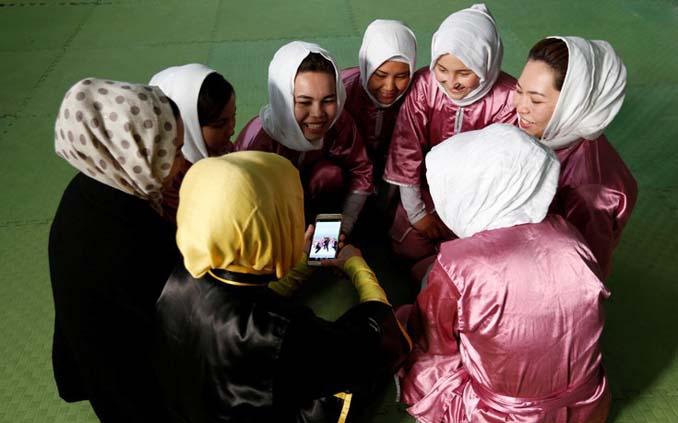 Οι ατρόμητες γυναίκες με τα σπαθιά από το Αφγανιστάν (9)