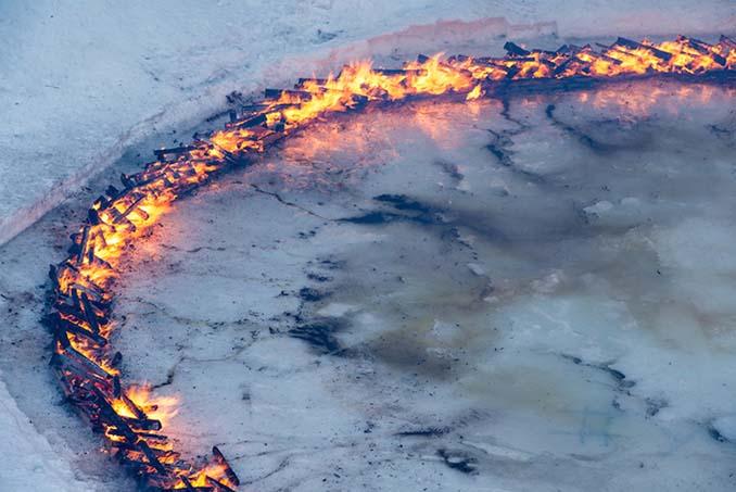 Δαχτυλίδι φωτιάς στη μέση των Ελβετικών Άλπεων (2)