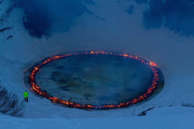 Δαχτυλίδι φωτιάς στη μέση των Ελβετικών Άλπεων (3)