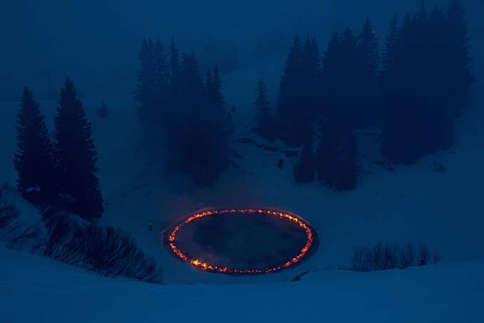 Δαχτυλίδι φωτιάς στη μέση των Ελβετικών Άλπεων (4)