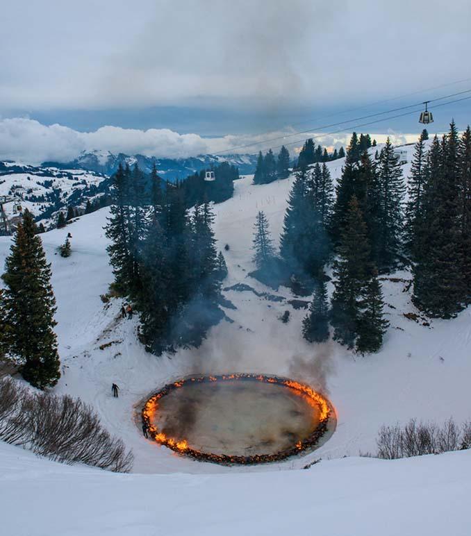 Δαχτυλίδι φωτιάς στη μέση των Ελβετικών Άλπεων (5)