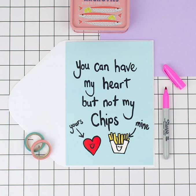 Δημιουργικές κάρτες Αγίου Βαλεντίνου για ζευγάρια με χιούμορ (1)