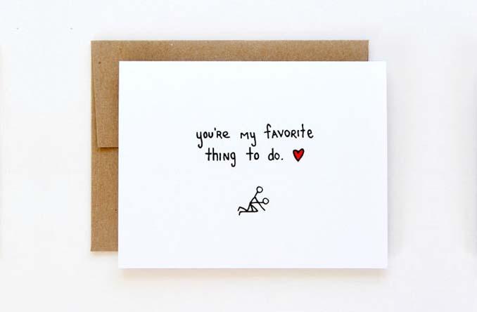 Δημιουργικές κάρτες Αγίου Βαλεντίνου για ζευγάρια με χιούμορ (17)