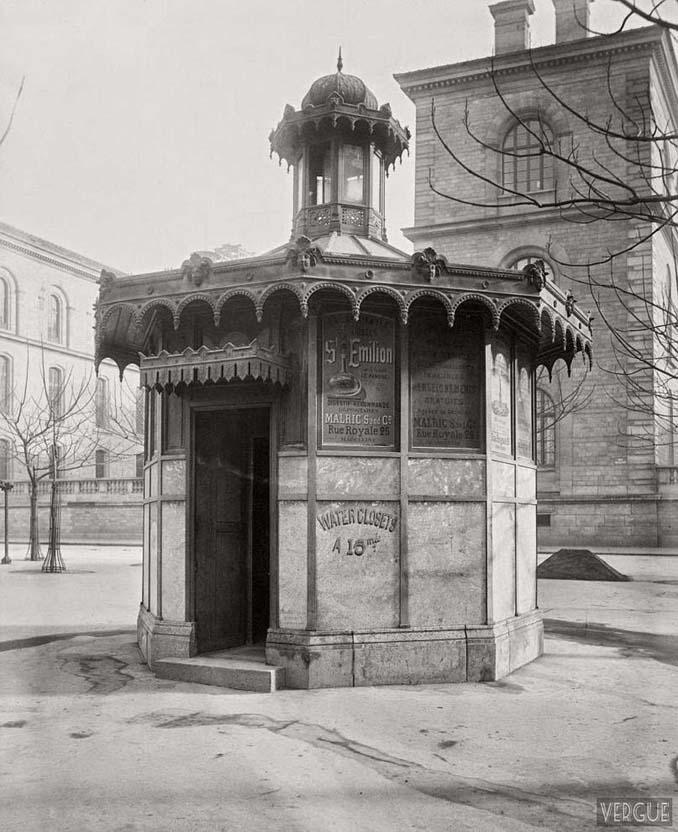 Τα δημόσια ουρητήρια του Παρισιού σε φωτογραφίες του 1860 (1)