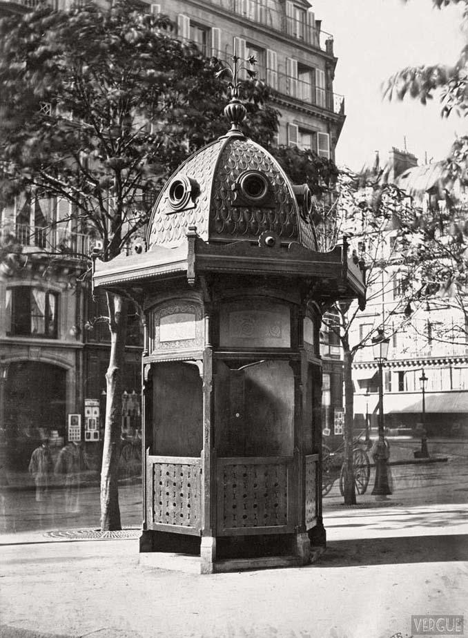 Τα δημόσια ουρητήρια του Παρισιού σε φωτογραφίες του 1860 (2)