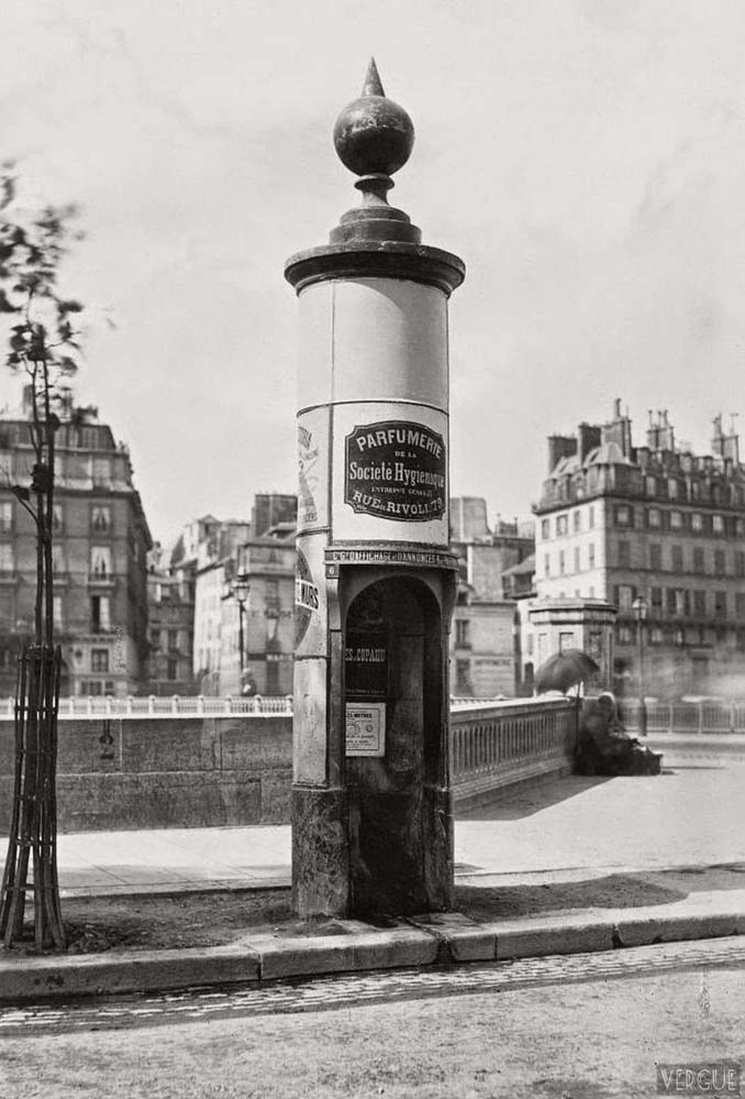 Τα δημόσια ουρητήρια του Παρισιού σε φωτογραφίες του 1860 (4)