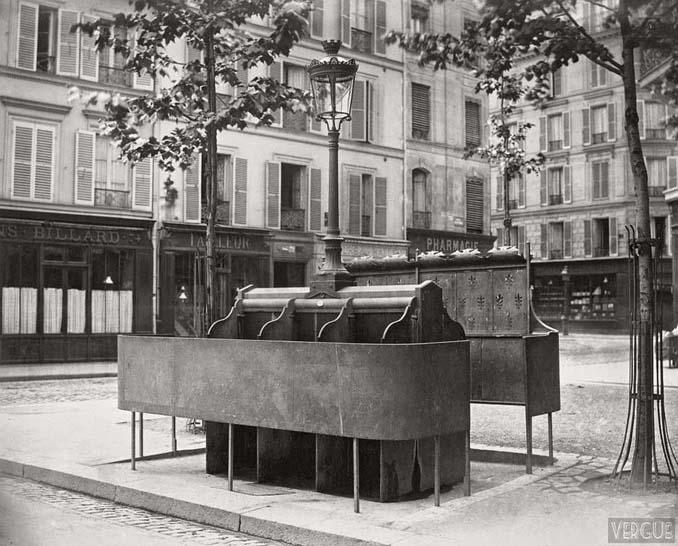 Τα δημόσια ουρητήρια του Παρισιού σε φωτογραφίες του 1860 (6)