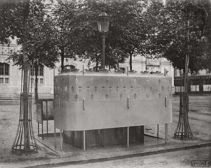 Τα δημόσια ουρητήρια του Παρισιού σε φωτογραφίες του 1860 (12)