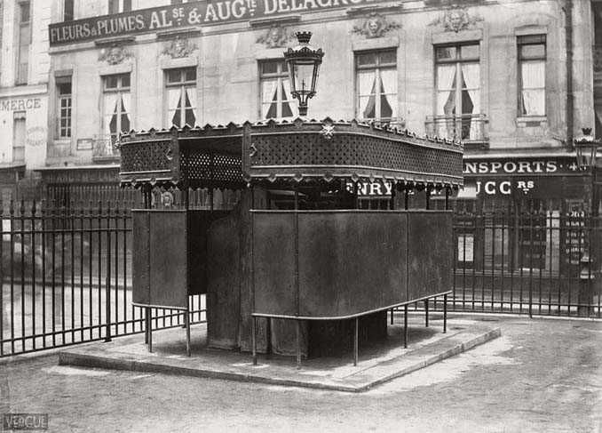 Τα δημόσια ουρητήρια του Παρισιού σε φωτογραφίες του 1860 (19)