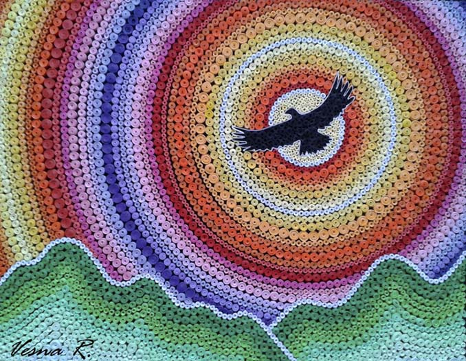 Εκπληκτικά και περίτεχνα έργα τέχνης που δημιουργήθηκαν με χαρτί (7)