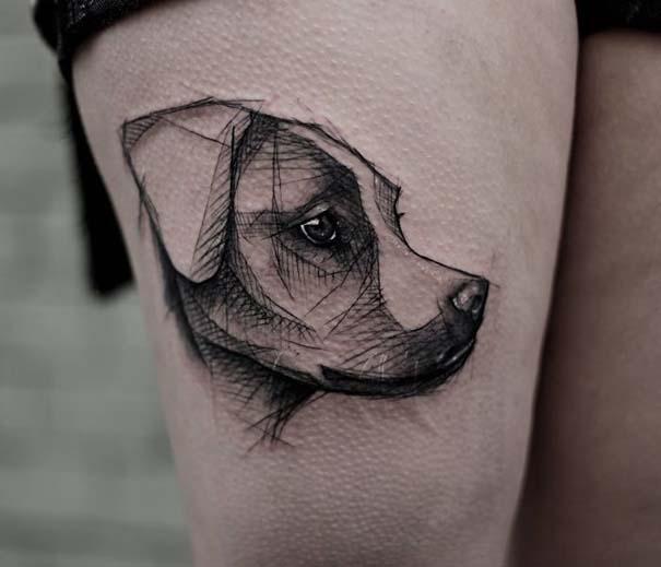 Εκπληκτικά τατουάζ για τους λάτρεις των σκύλων (10)