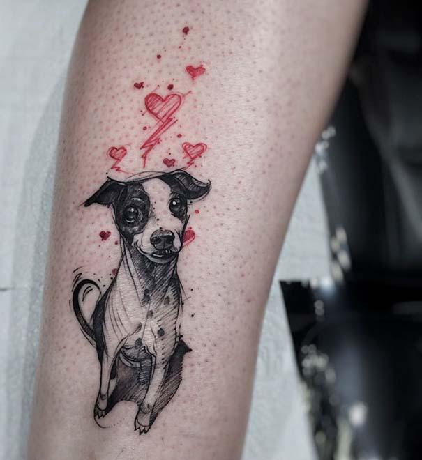 Εκπληκτικά τατουάζ για τους λάτρεις των σκύλων (26)