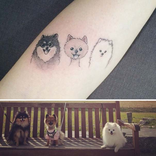 Εκπληκτικά τατουάζ για τους λάτρεις των σκύλων (30)