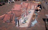 20+1 εντυπωσιακά δείγματα 3D τέχνης του δρόμου