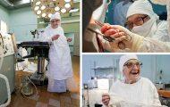 Η γηραιότερη χειρουργός στον κόσμο είναι 89 ετών και πραγματοποιεί 4 επεμβάσεις την ημέρα (1)
