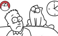 Η καθημερινότητα με μία γάτα μέσα από ένα ξεκαρδιστικό καρτούν
