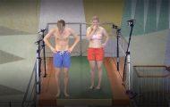 Κοινωνικό πείραμα ζητάει από ανθρώπους να βουτήξουν για πρώτη φορά από βατήρα ύψους 10 μέτρων