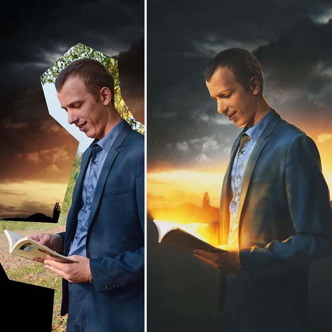 Ο Max Asabin μπορεί να σας μεταφέρει σε οποιοδήποτε σκηνικό χρησιμοποιώντας το Photoshop (2)
