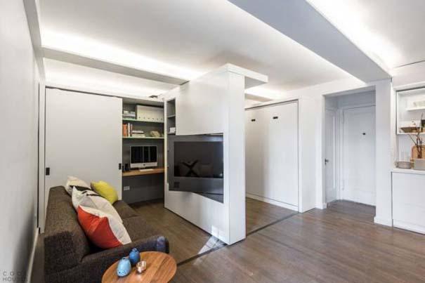 Μικροσκοπικό διαμέρισμα - transformer έχει όλα όσα θα μπορούσατε να χρειαστείτε (4)