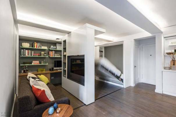 Μικροσκοπικό διαμέρισμα - transformer έχει όλα όσα θα μπορούσατε να χρειαστείτε (5)