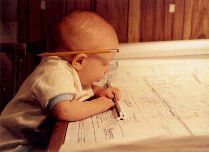 Αρχιτέκτονας θα γίνει το παιδί! | Φωτογραφία της ημέρας