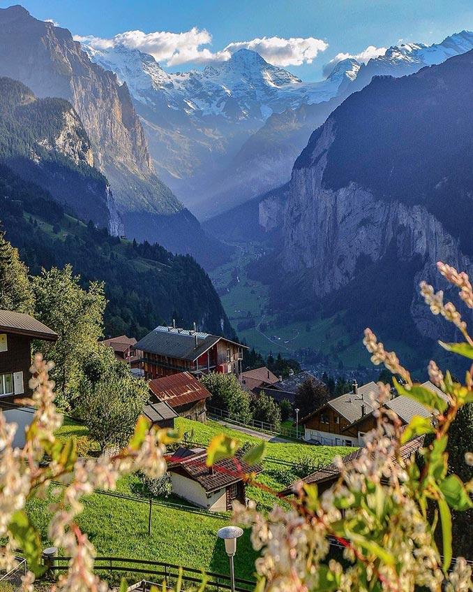 Μια φανταστική ματιά στις Ελβετικές Άλπεις   Φωτογραφία της ημέρας