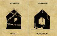 Εξηγώντας 16 ψυχικές ασθένειες και διαταραχές με τη βοήθεια της αρχιτεκτονικής