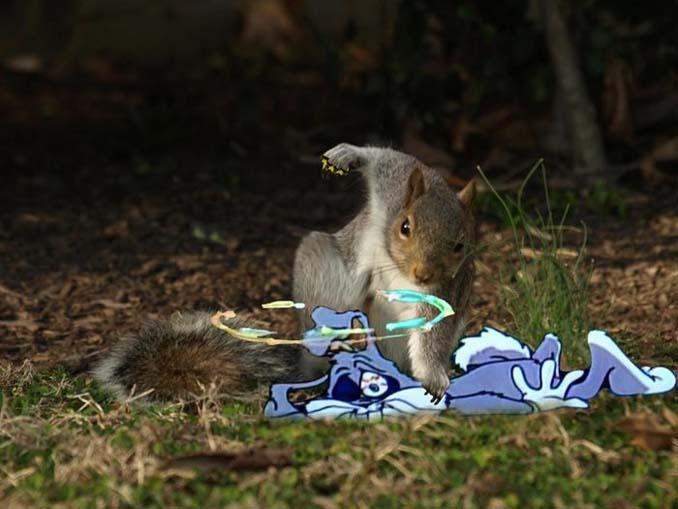 Σκίουρος σε πόζα σούπερ ήρωα έγινε αφορμή για ένα ξεκαρδιστικό Photoshop Battle (8)