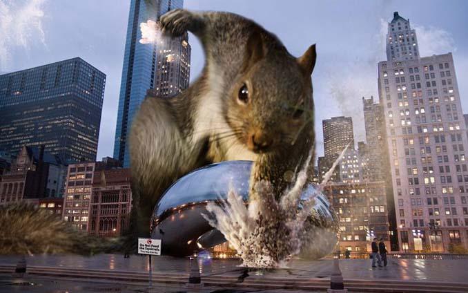 Σκίουρος σε πόζα σούπερ ήρωα έγινε αφορμή για ένα ξεκαρδιστικό Photoshop Battle (14)