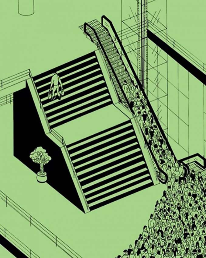 Σκίτσα αποκαλύπτουν τη σκοτεινή πλευρά της σημερινής κοινωνίας (1)