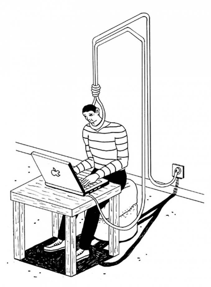 Σκίτσα αποκαλύπτουν τη σκοτεινή πλευρά της σημερινής κοινωνίας (14)