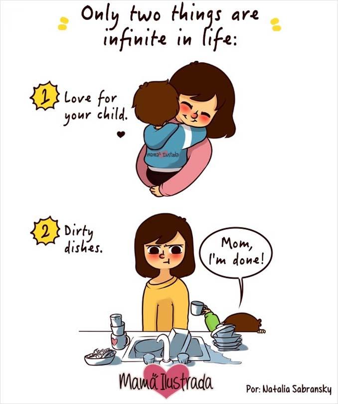 Σκίτσα με ειλικρίνεια δείχνουν πώς είναι να είσαι μαμά (9)