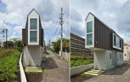 Αυτό το στενό σπίτι στην Ιαπωνία φαίνεται μικροσκοπικό μέχρι να δεις το εσωτερικό του