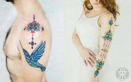 Τατουάζ εμπνευσμένα από την τέχνη των φυλών του Αμαζονίου